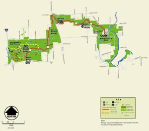 Salt Creek Map